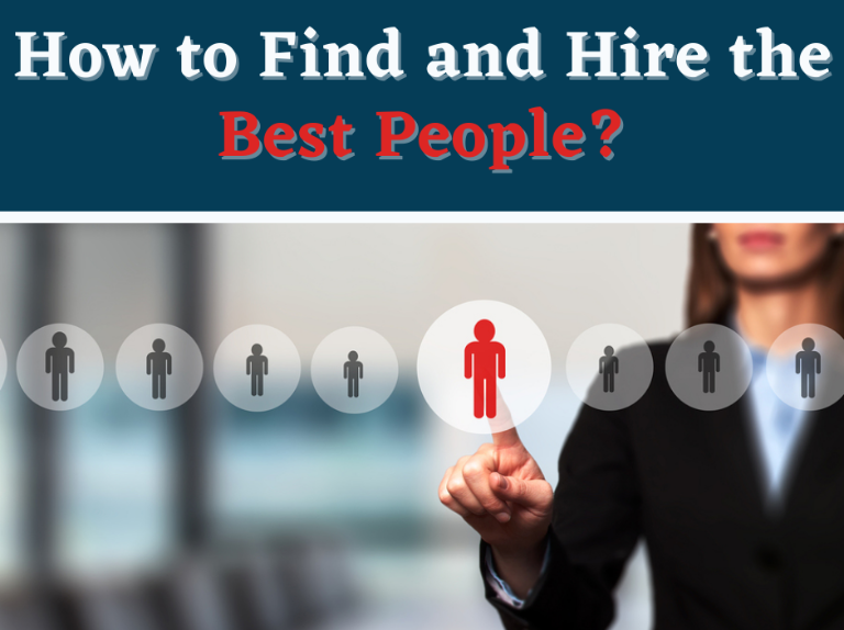 How to find and hire best people