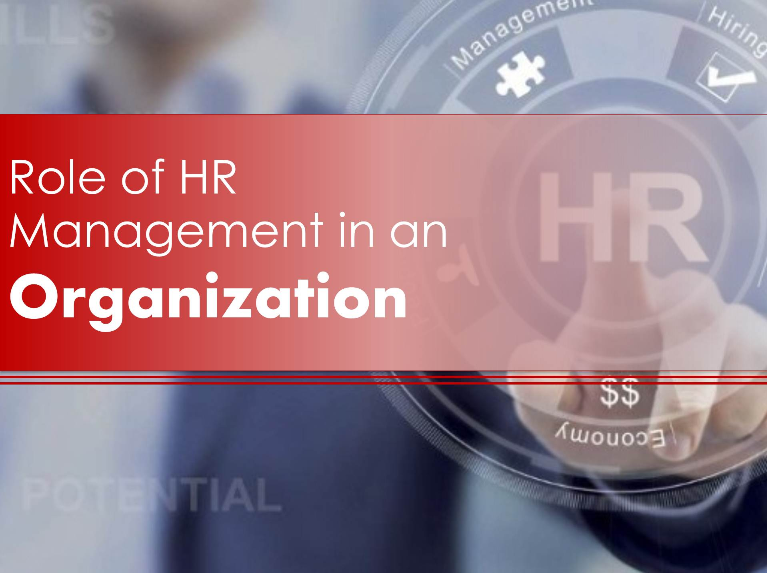 Role of HR in an organization